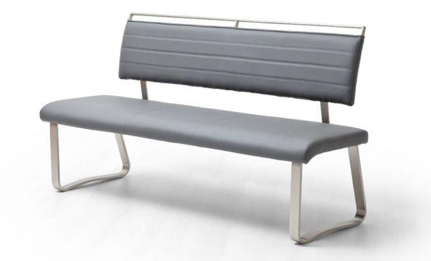 Sitzbänke grau