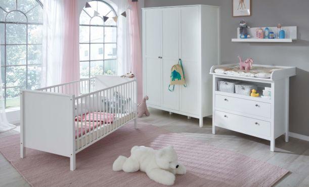 Babyzimmer Sets weiß