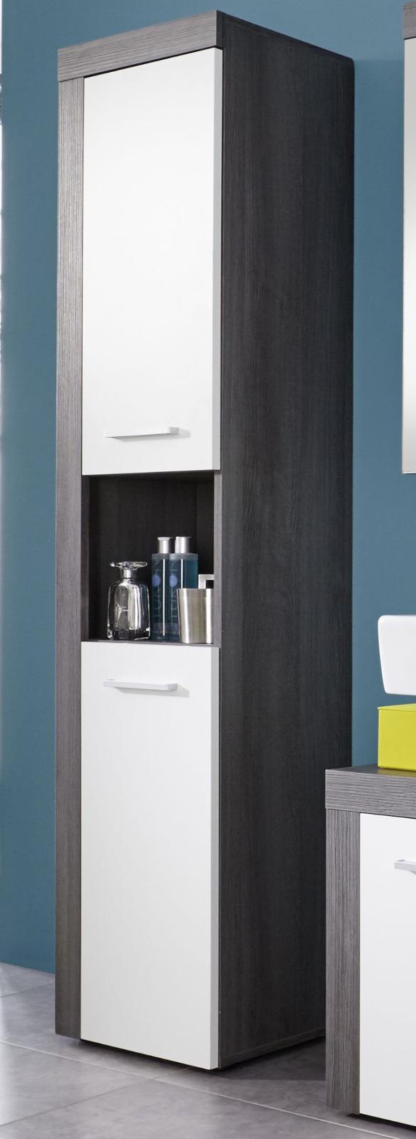 Badezimmerschrank Grau