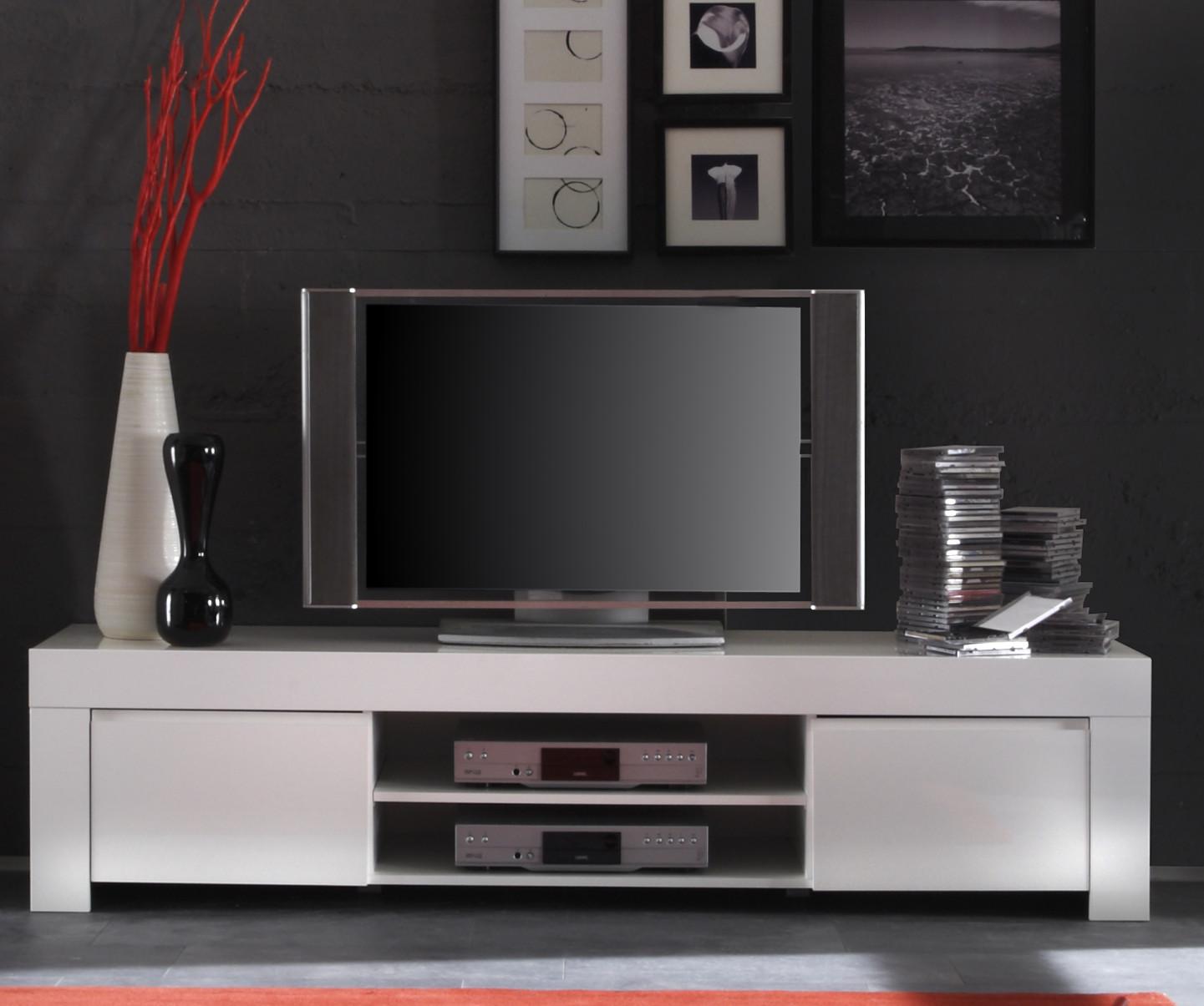 Tv Element In Weiss Hochglanz Lack Italien Livorno