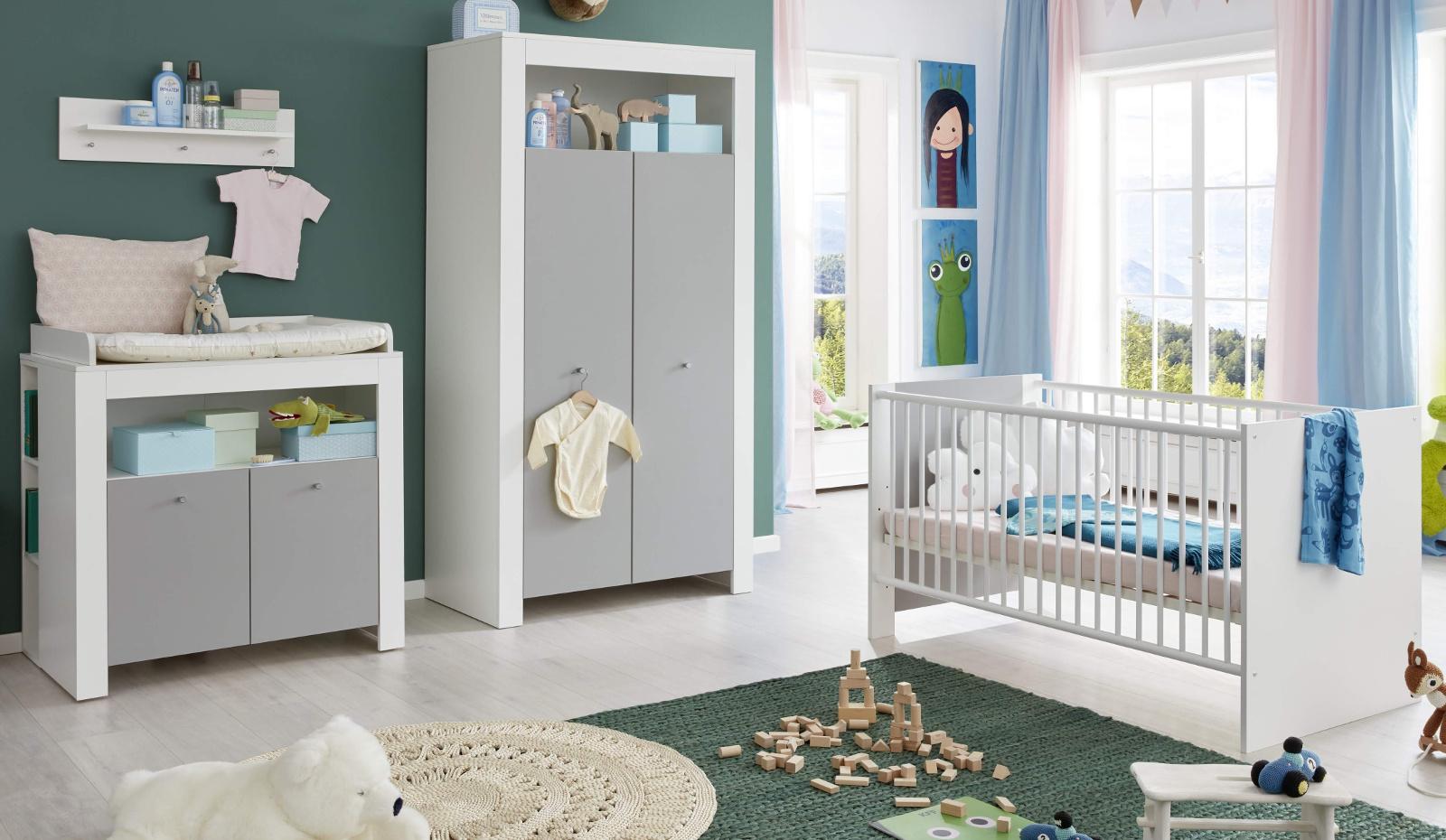 Babyzimmer Wilson Komplett Set 3 Teilig