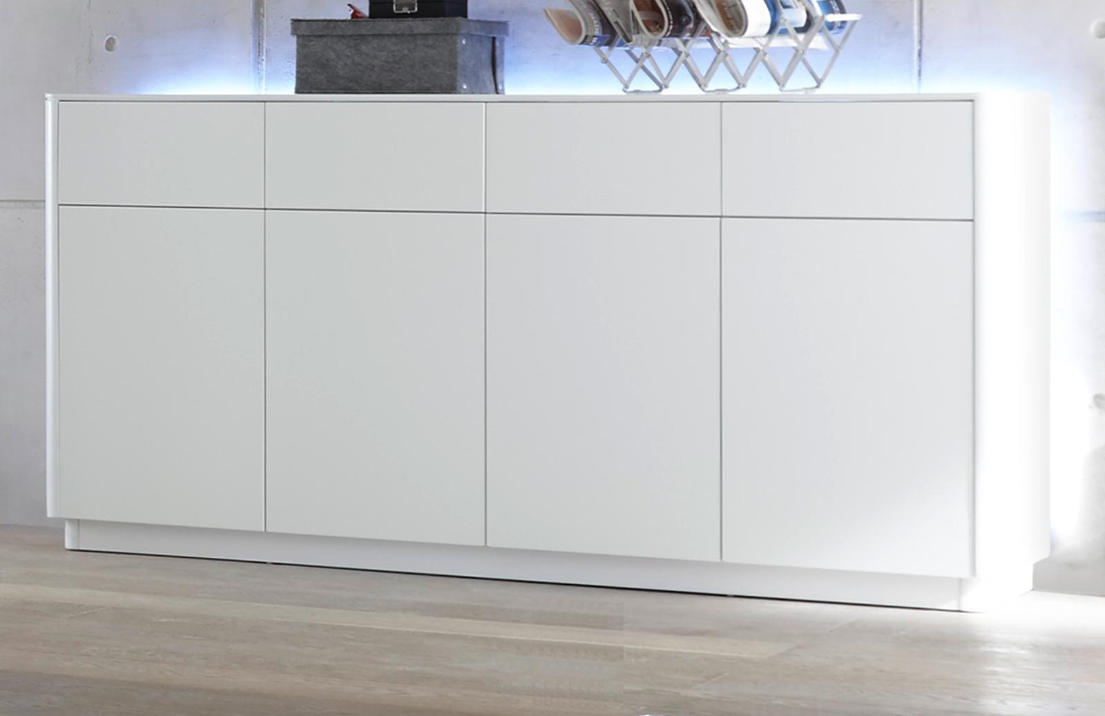 sideboard menton matt wei lack 180 cm