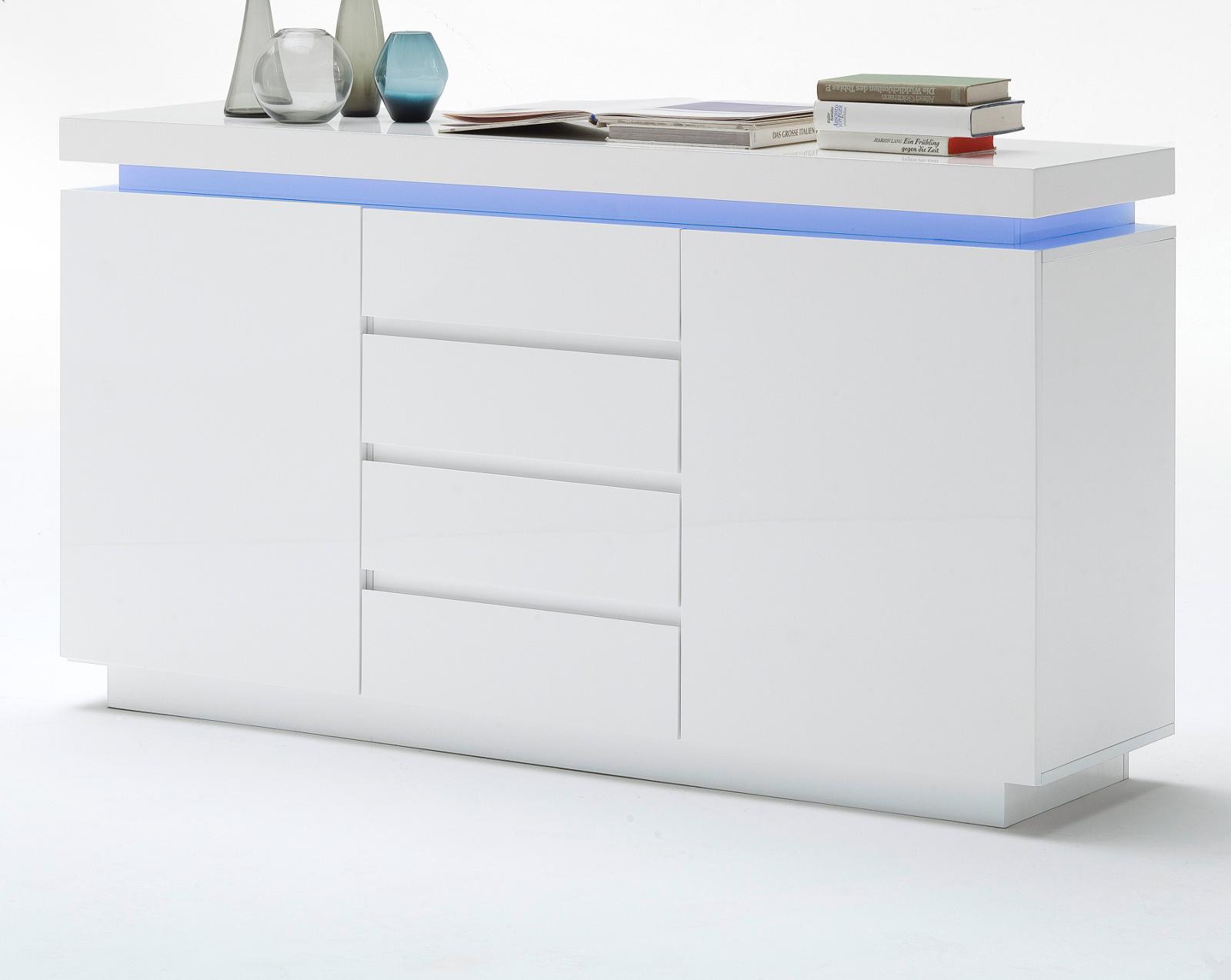 Kommode Weiß Hochglanz 150 Cm 2021
