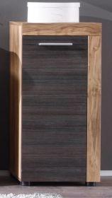Badezimmer: Unterschrank Cancun Nussbaum Satin Touchwood dunkel (36x81 cm)