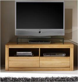 TV-Unterteil in Kernbuche massiv, geölt und gewachst Ponto