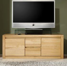 TV-Unterteil in Kernbuche massiv, geölt und gewachst Ponto 147 cm