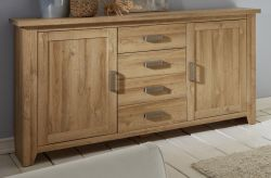 Sideboard Kommode in Alteiche Dekor Anrichte 174 cm Canyon