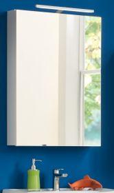 Badmöbel Spiegelschrank weiß 50x76 cm Venus
