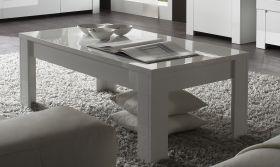 Tisch Couchtisch weiss Hochglanz Lack 122 x 65 Livorno6