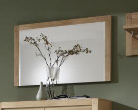 Wandspiegel Flurspiegel Vigo Eiche Bianco massiv, geölt und gewachst 115 x 70 cm