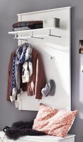 Garderobenpaneel Ole weiß 81 x 122 cm
