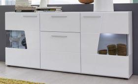 Sideboard Kommode Move in Hochglanz weiß Anrichte 170 x 89 cm