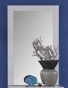 Flurgarderobe Wandspiegel Kito in weiß Garderobenspiegel 58 x 95 cm