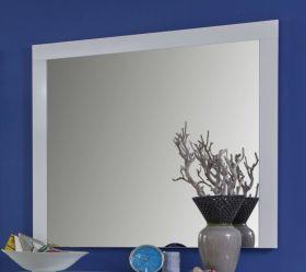 Flurgarderobe Wandspiegel Kito in weiß Garderobenspiegel 103 x 86 cm