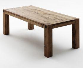 Esstisch Leeds in Eiche Bassano massiv matt lackiert Küchentisch Massivholztisch 260 x 100 cm