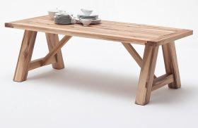 Esstisch Bristol in Wildeiche massiv matt lackiert Küchentisch Massivholztisch 260 x 100 cm