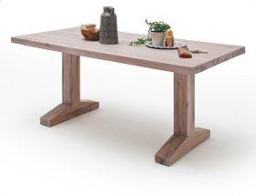 Esstisch Lunch in Eiche gekälkt massiv matt lackiert Küchentisch Massivholztisch 220 x 100 cm