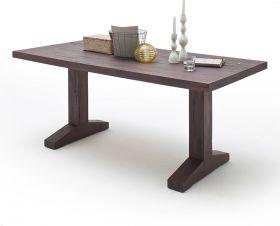 Esstisch Lunch in Eiche verwittert massiv matt lackiert Küchentisch Massivholztisch 260 x 100 cm