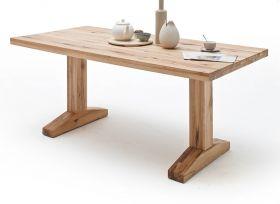 Esstisch Lunch in Wildeiche massiv matt lackiert Küchentisch Massivholztisch 180 x 90 cm