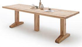 Esstisch Lunch in Wildeiche massiv matt lackiert Massivholztisch 400 x 120 cm