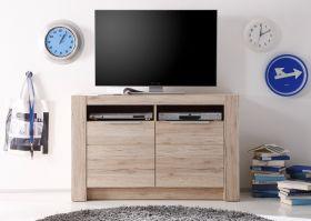 Lowboard TV-Unterteil Cougar San Remo Eiche Hell Breite 113 cm