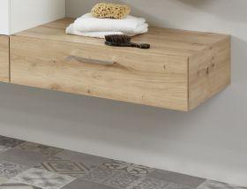 Ansatz für Waschbeckenunterschrank One in Eiche / Asteiche Badschrank 70 x 20 cm Badmöbel