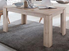 Esstisch in Edelbuche / Buche Küchentisch ausziehbar mit Einlegeplatte 160 - 200 x 90 cm Holztisch