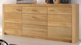 Sideboard Hartford in Asteiche massiv geölt Kommode 163 x 80 cm