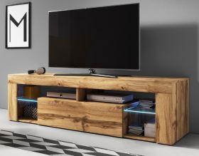 TV-Lowboard Mount in Wotan Eiche 140 x 51 cm