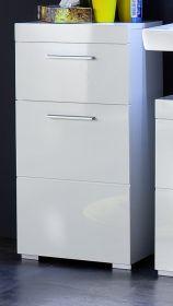 Badezimmer: Unterschrank Amanda weiß Hochglanz 37 x 79 cm