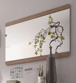 Garderobenspiegel Wandspiegel Malea Eiche San Remo 90 cm
