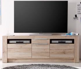 Lowboard TV-Unterteil Cougar San Remo Eiche Hell Breite 161 cm